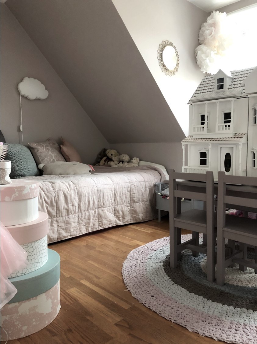 barnrum sovrum säng