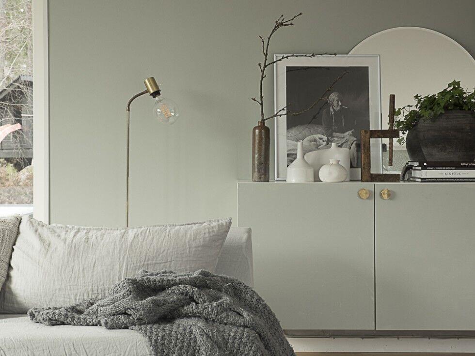 Mala om IKEA skåp utan att slipa