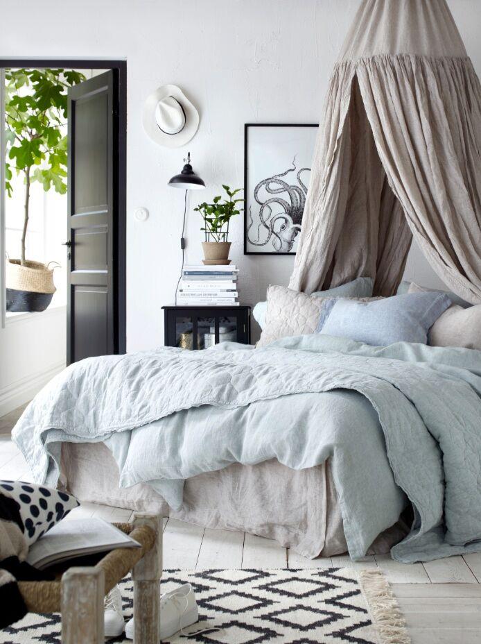 Blekt sovrum