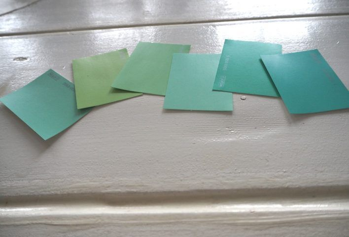 Mintgrönt, turkosgrönt, ljusgrönt, limegrönt...hjälp! Vad blir finast?