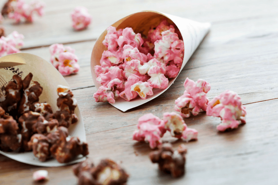 how-to-make-pink-popcorn