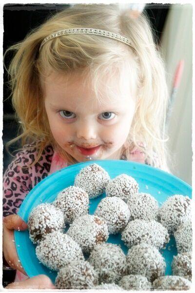 Mira chokladbollar