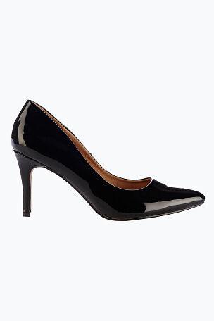 Ellos Shoes Spetsig pumps med smal klack