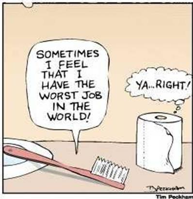 Borsta tänderna