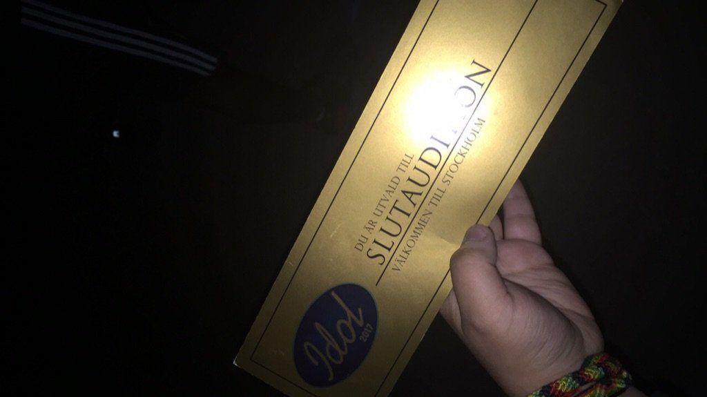 guldbiljett