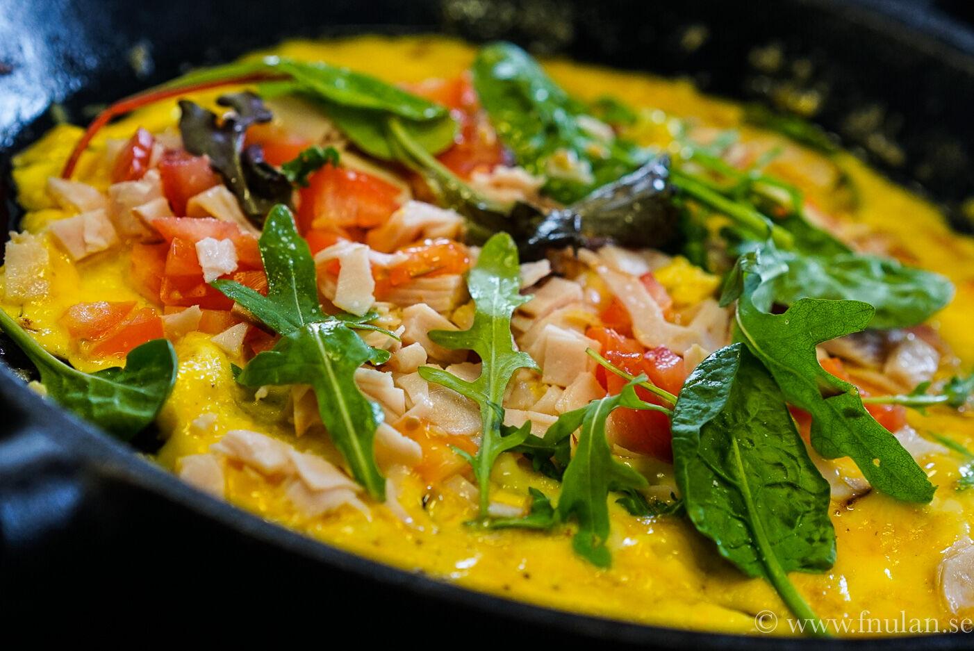LCHF Omelett