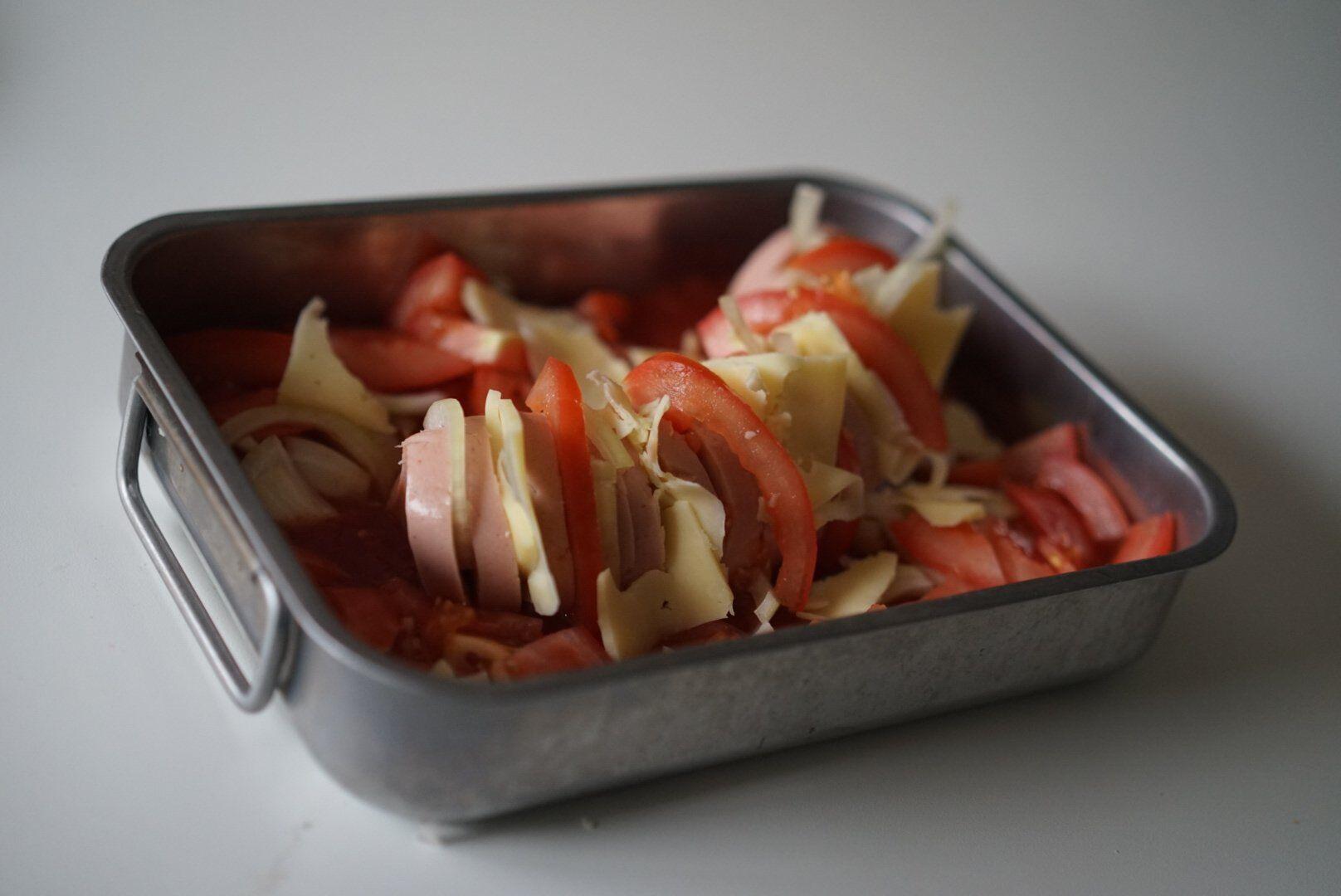 Recept Falukorv i ugnen