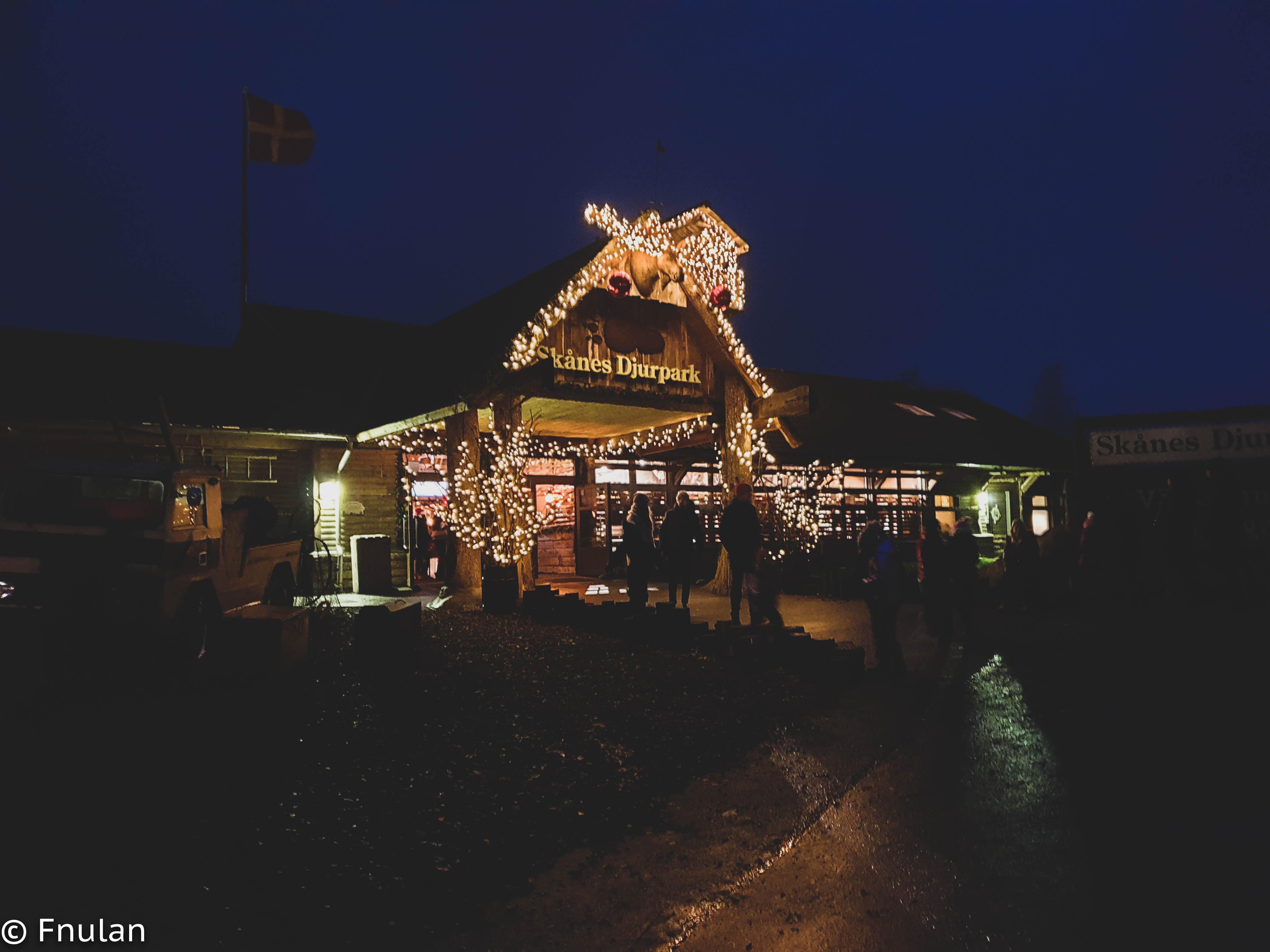 Jul i Skånes djurpark