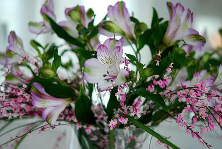 Färska blommor är mitt bästa humörhöjar-tips! dessa doftar LJUVLIGT!!! Inte en aning om vad de heter dock, vet ni??