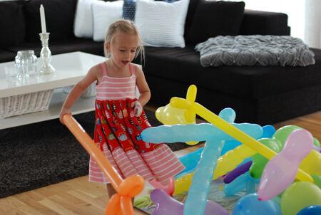 Lycka är ett helt hav av ballonger!! ♥