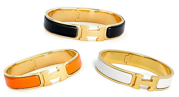 hermes-enamel-gold-bracelet-celebrity-trend-indian-influence-hollywood-jewelry