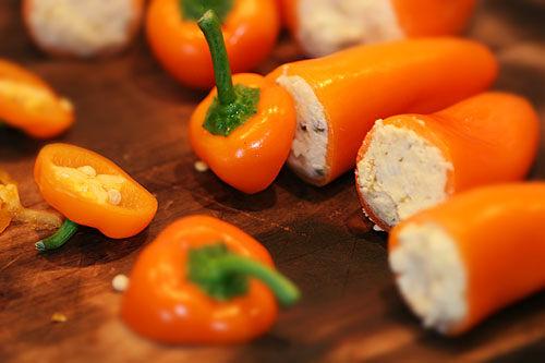 chili fylld med ost