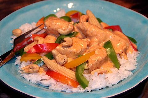 thailändsk mat kyckling