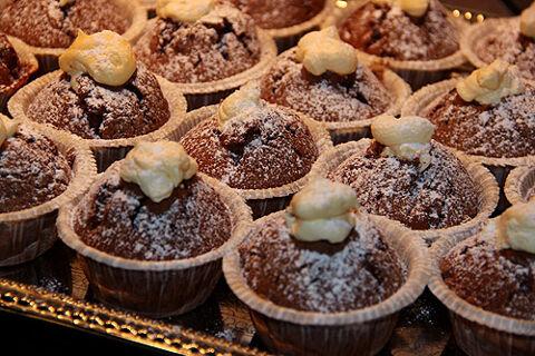 recept muffins med fyllning