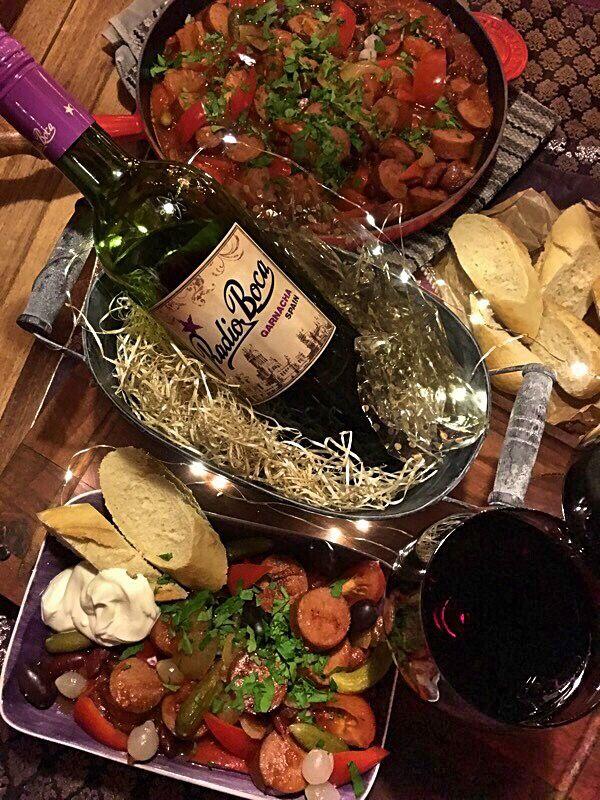 vin till kryddig mat