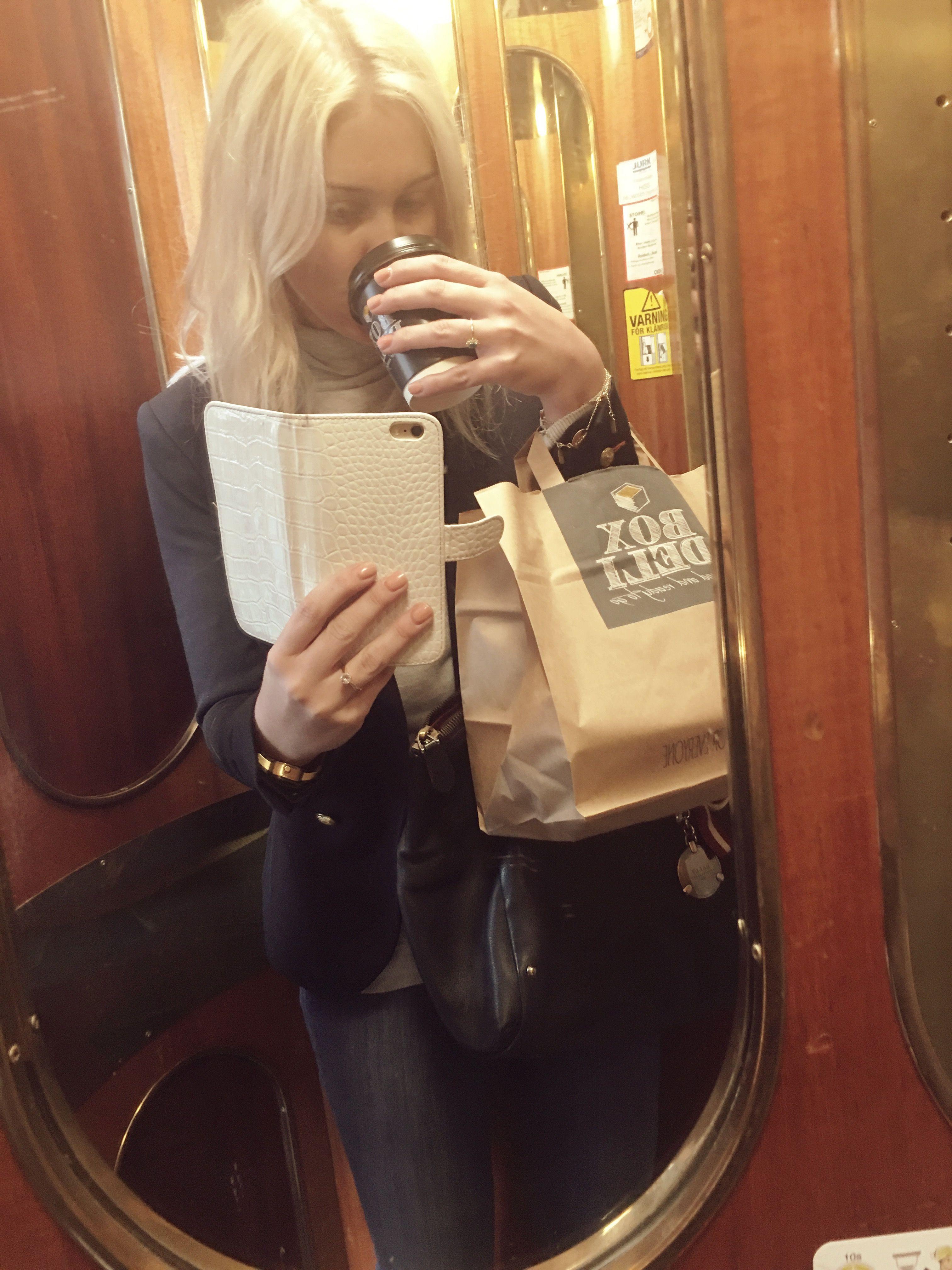 blondinbella kaffe hiss