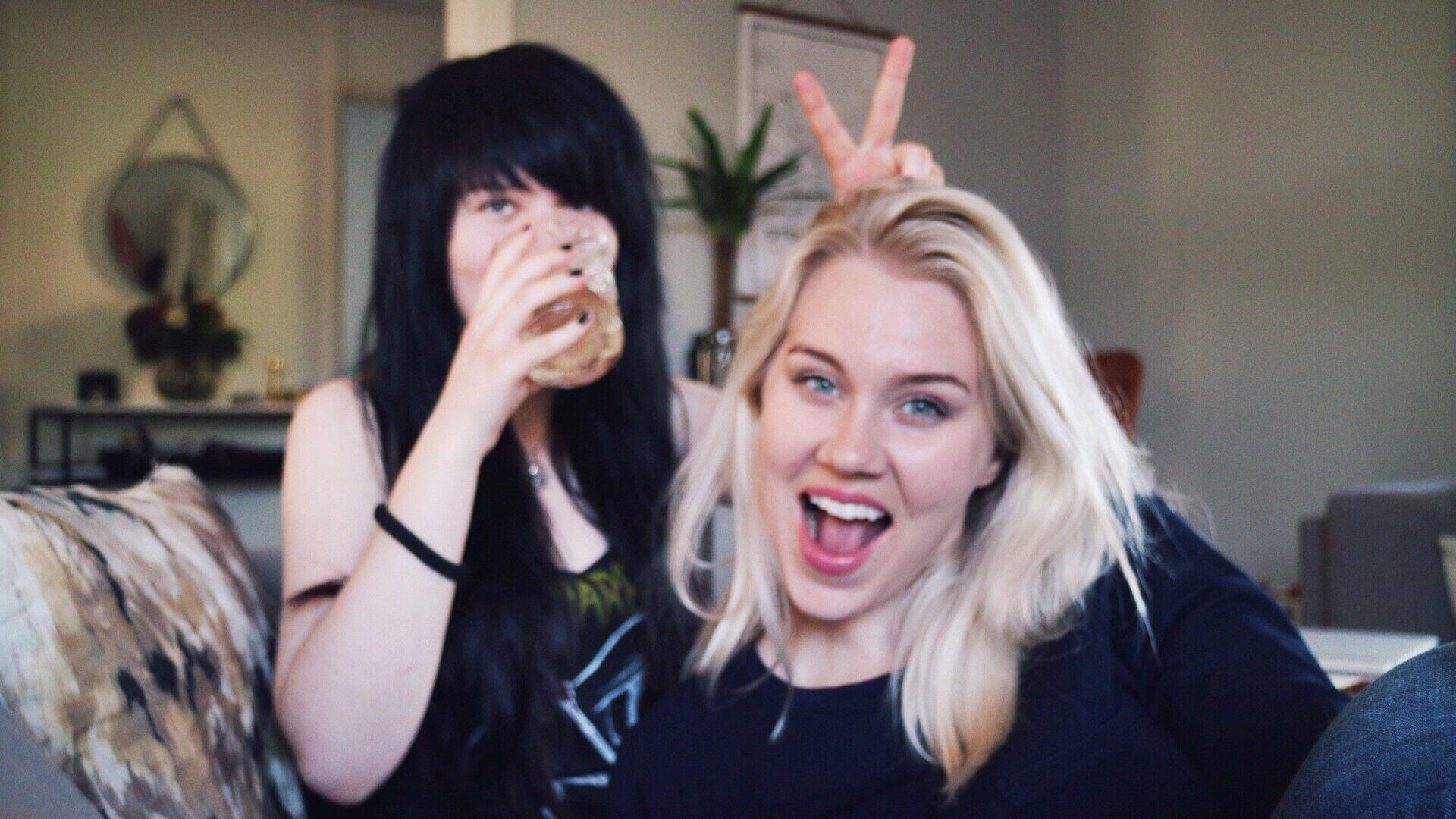 blondinbella systrar