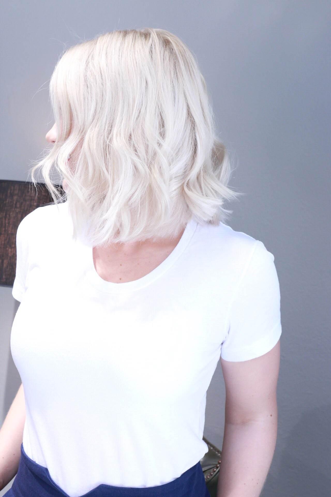 blondinbella nyklippt