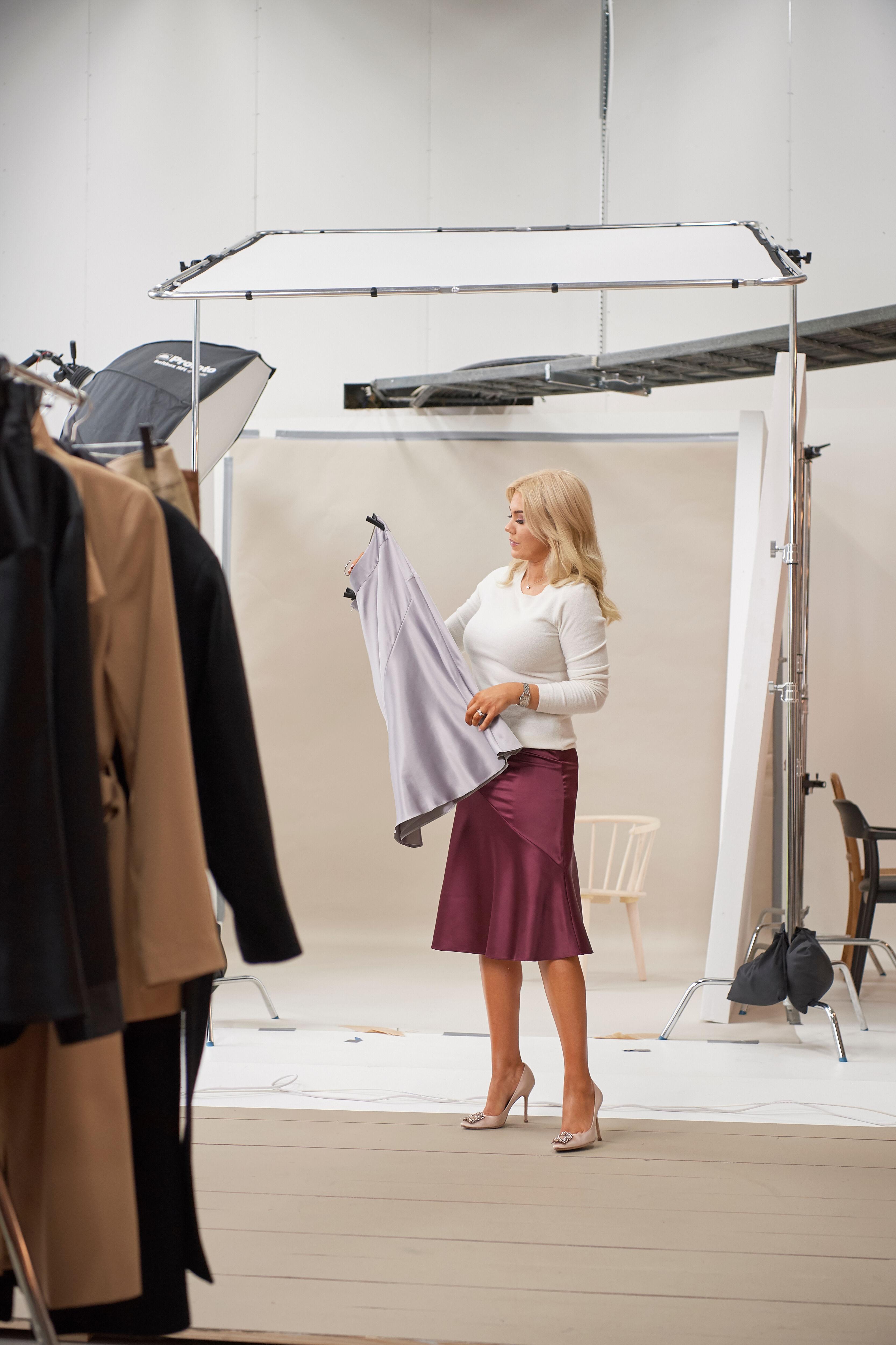 Blogg och IG story 5 stickat:kjol