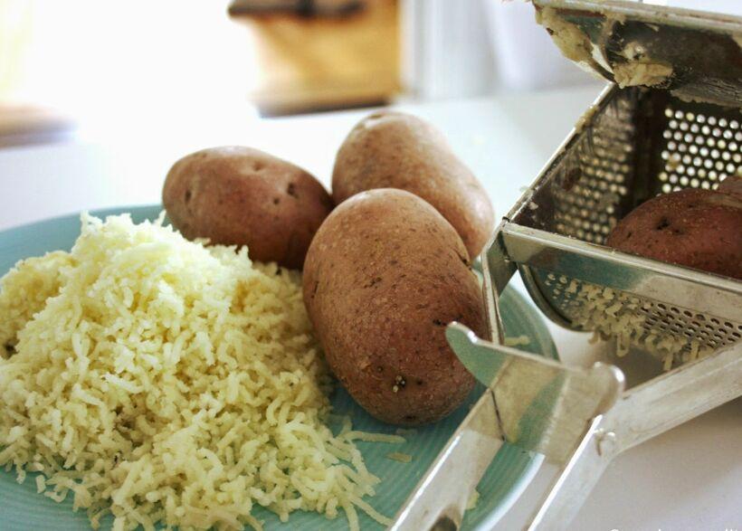 pressad-potatisar