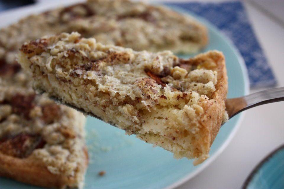 ediths bästa äppelkaka havretäcke