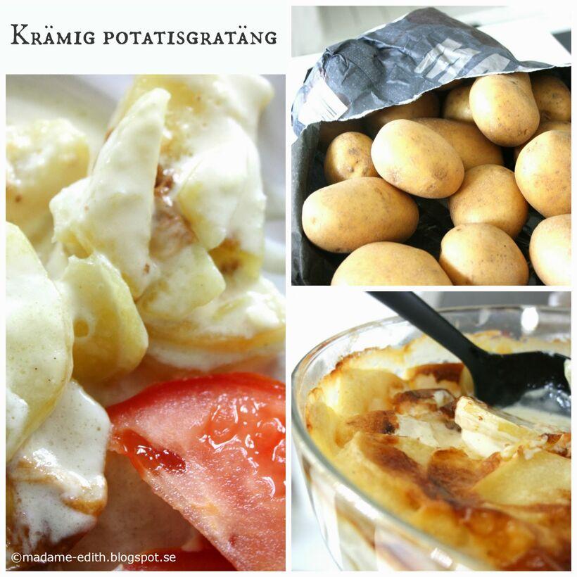 Kramig potatisgratang 1