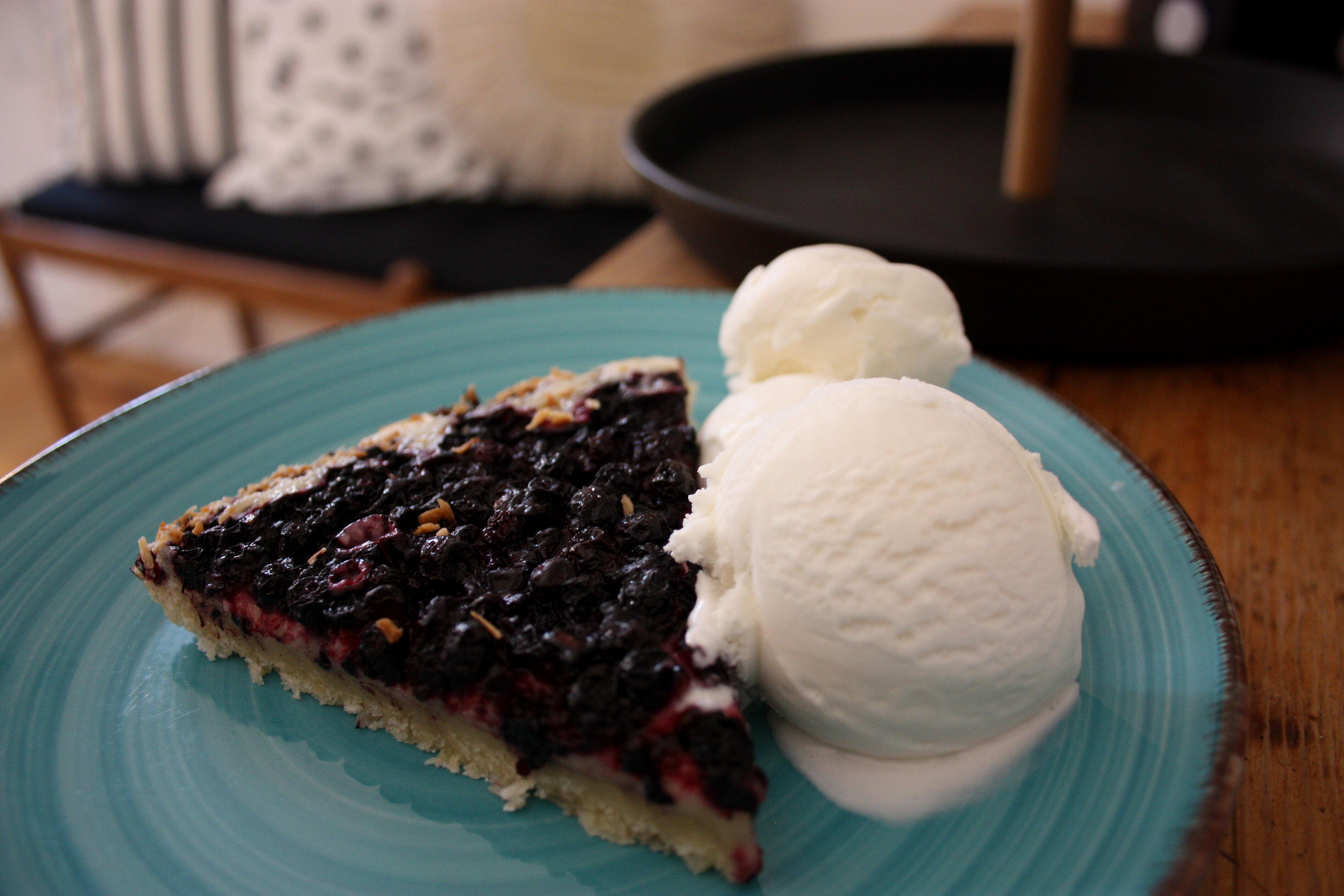 blåbär kaka