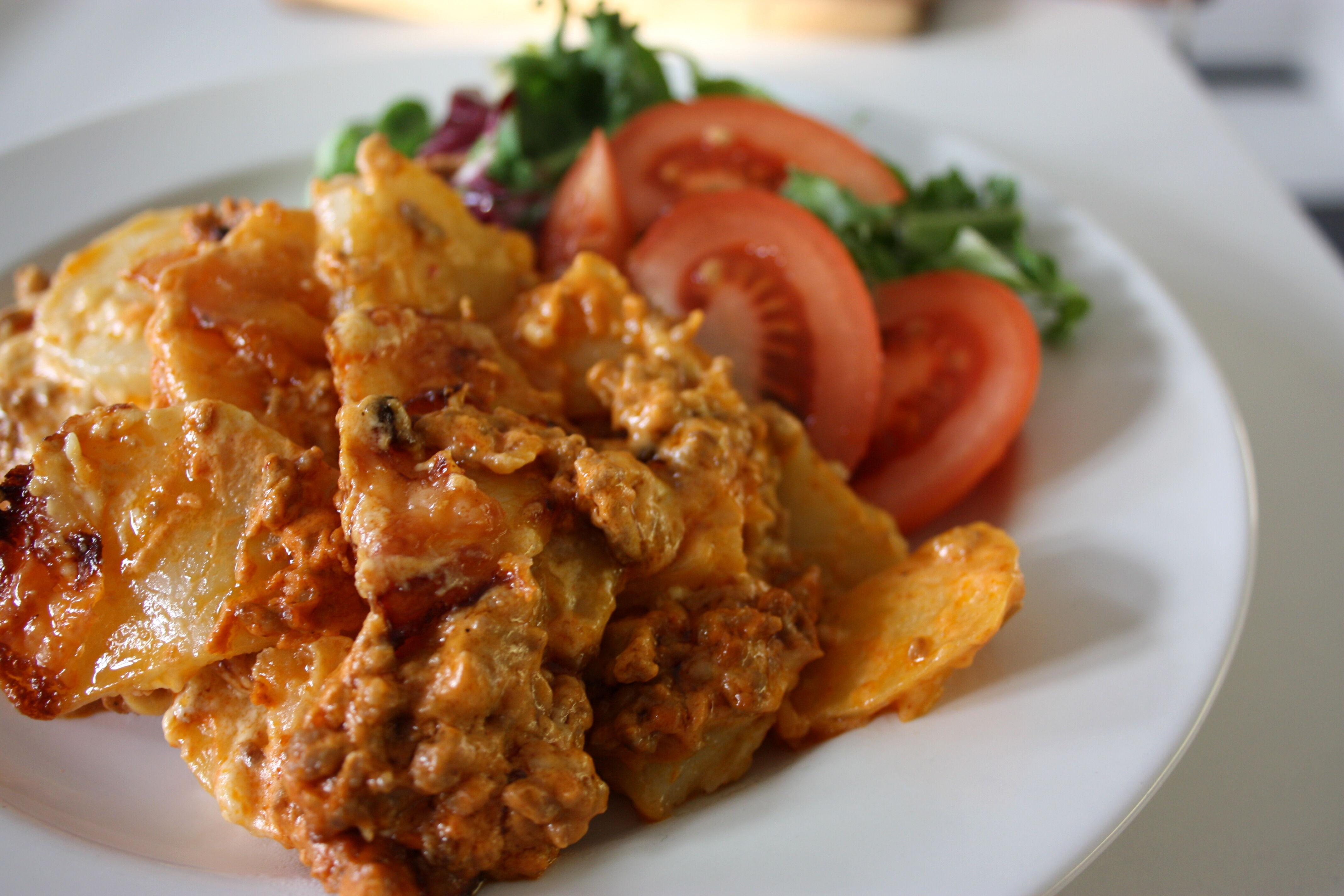 köttfärs potatis recept