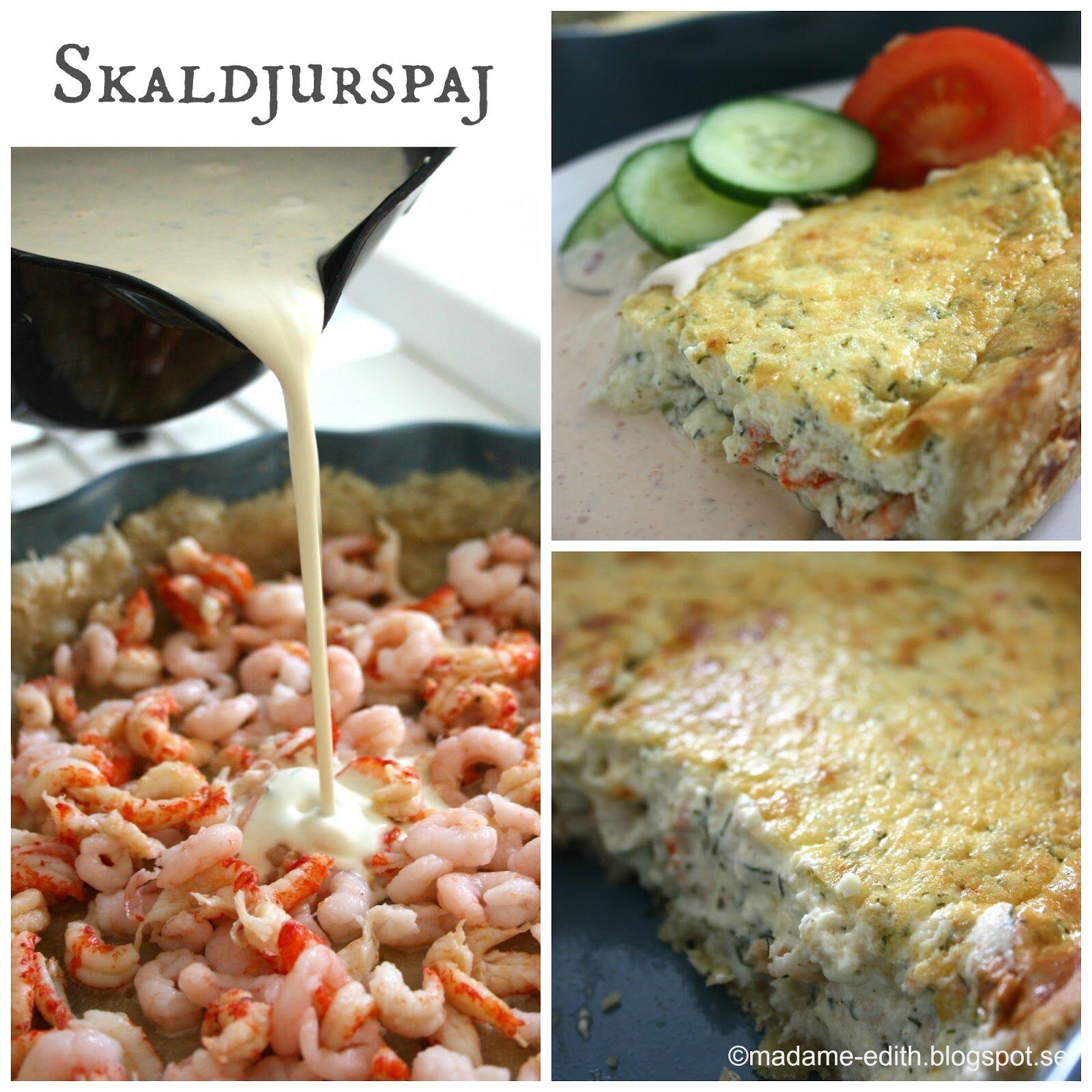 Recept skaldjurspaj 3