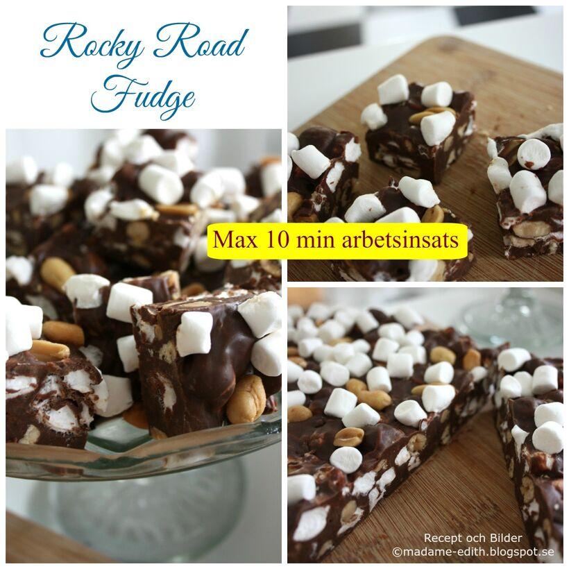 Rocky road fudge 3