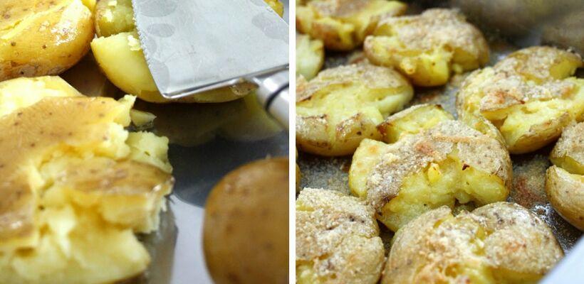 krossad potatis