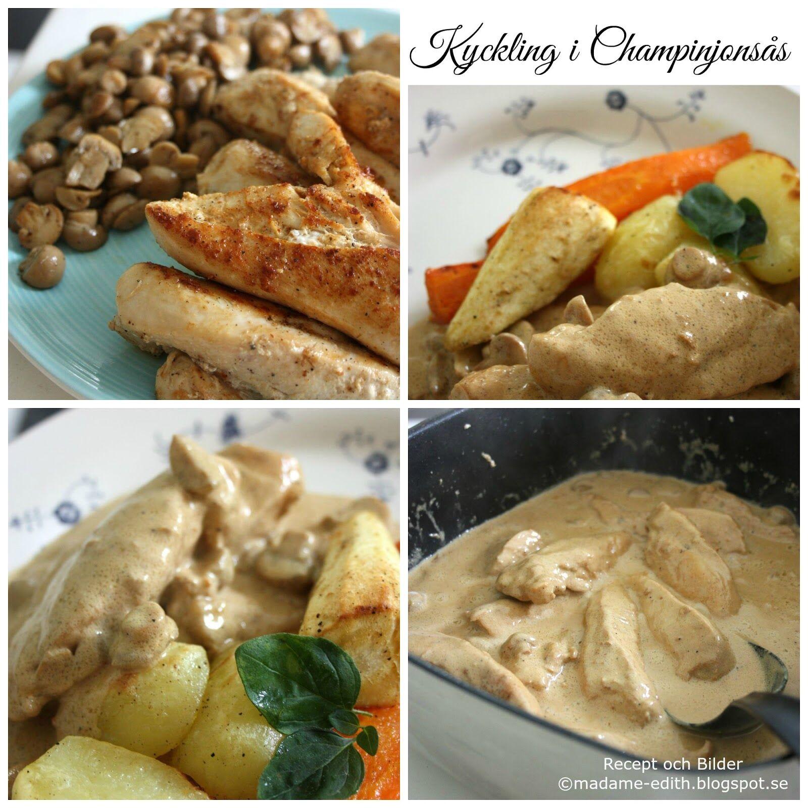 kyckling champinjonsås (1)