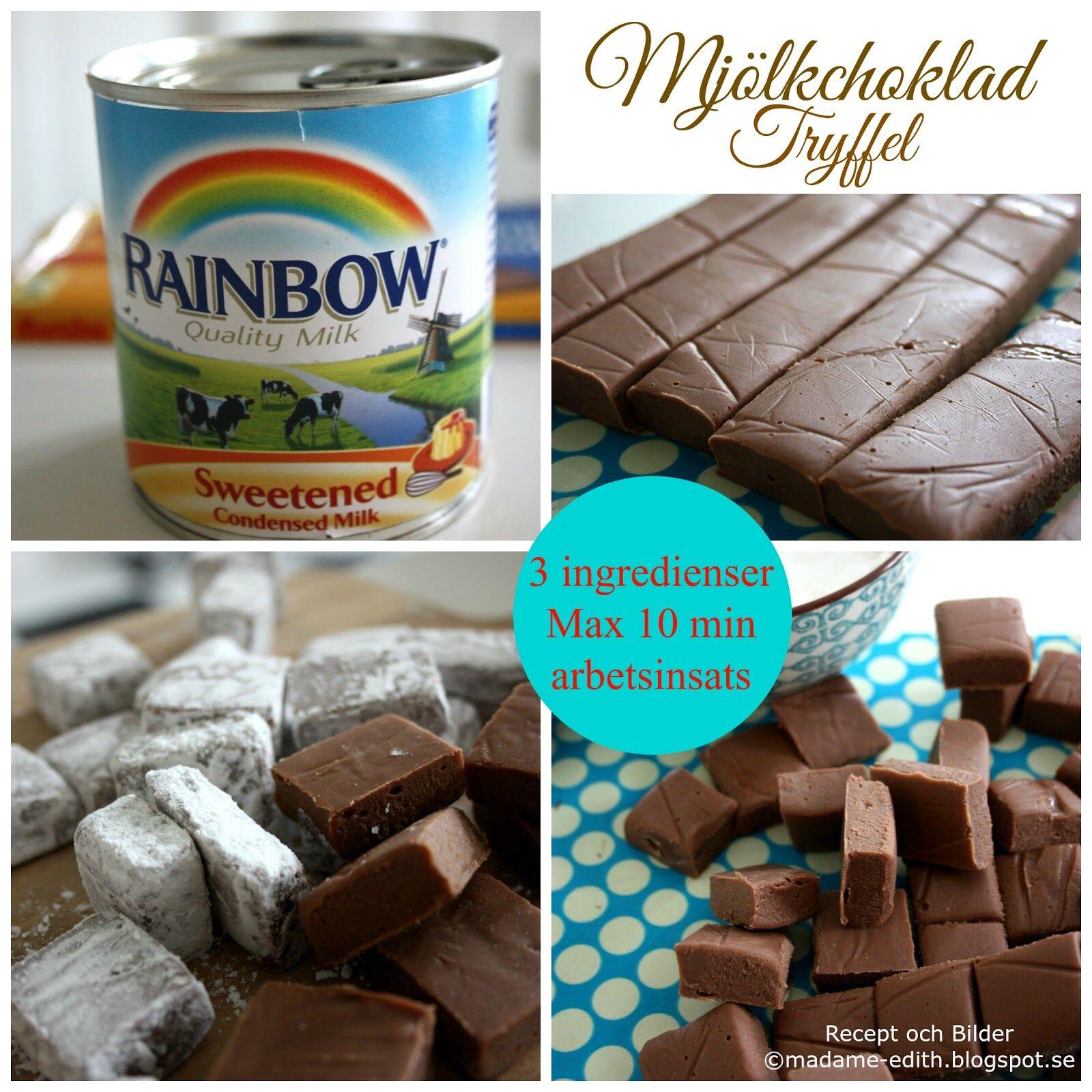 mjölkchoklad tryffel (3)