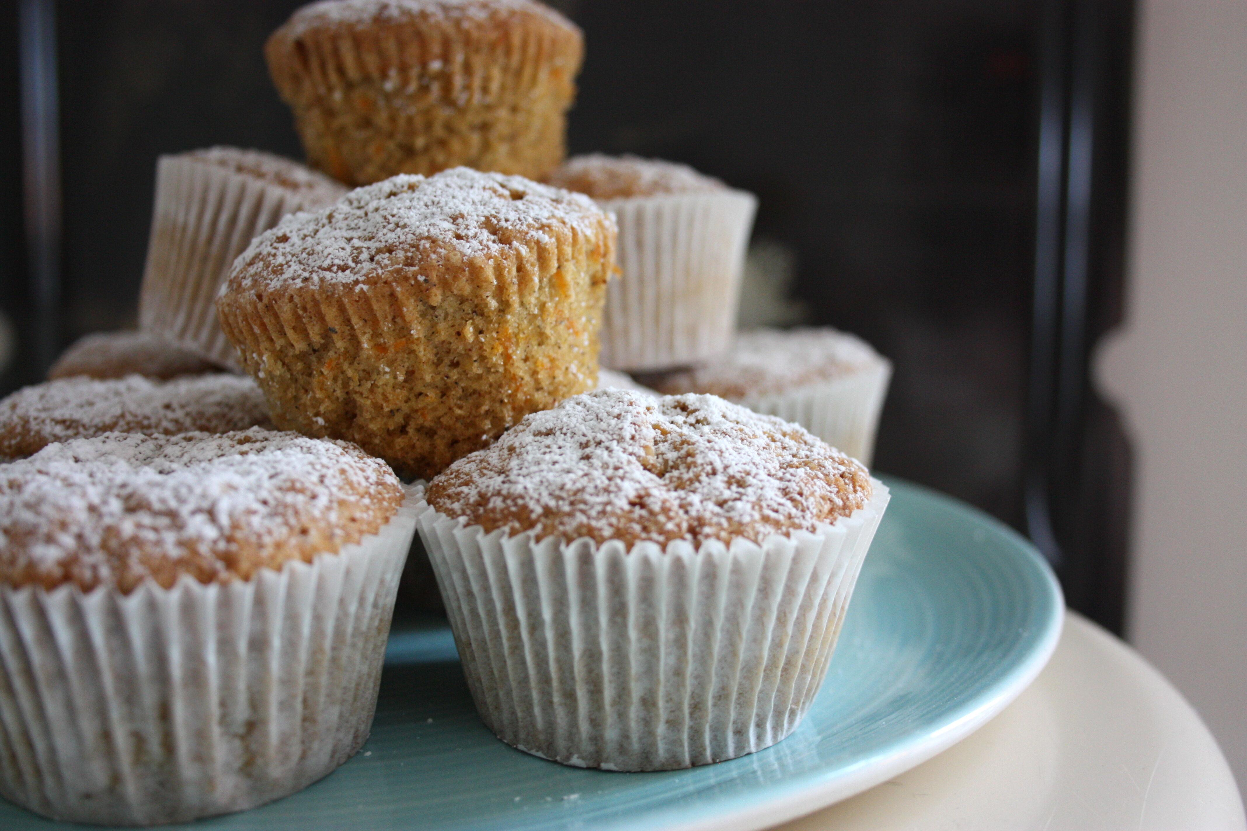 muffins med morot