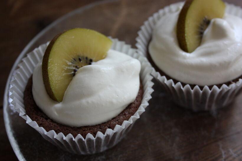 muffins kladdkaka