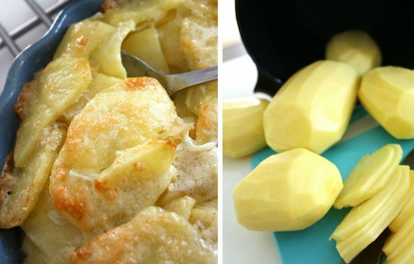 potatis med ost