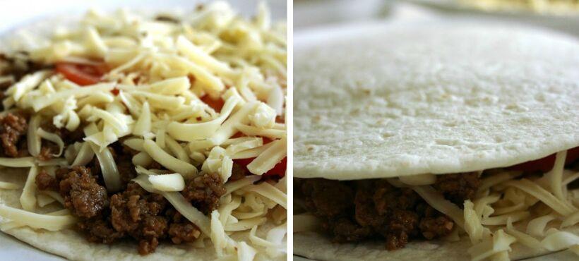 tacofärs i quesadillas