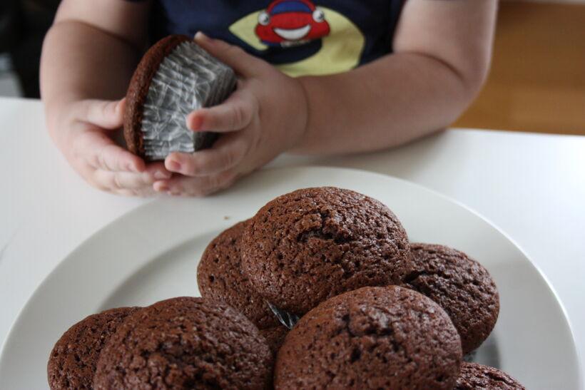 choklad muffins