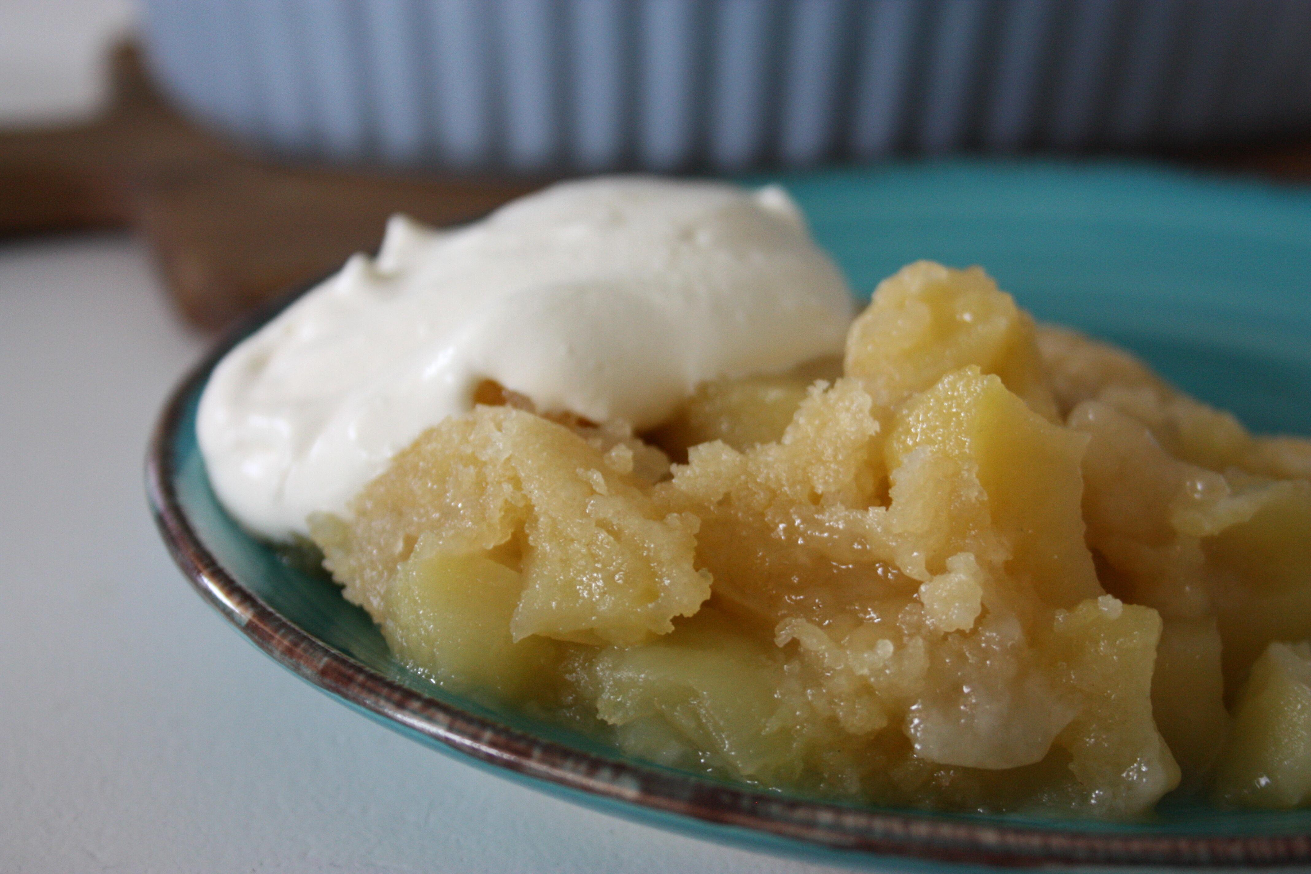 godaste äppelpajen smör