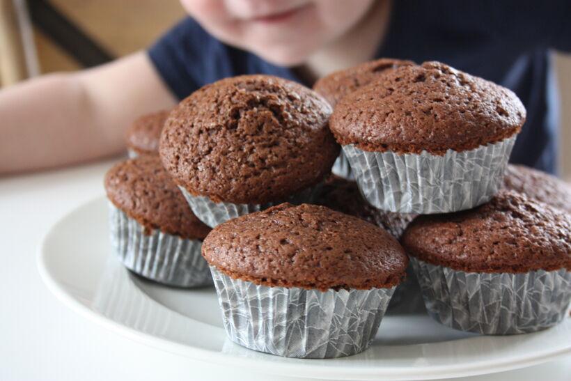 muffins choklad