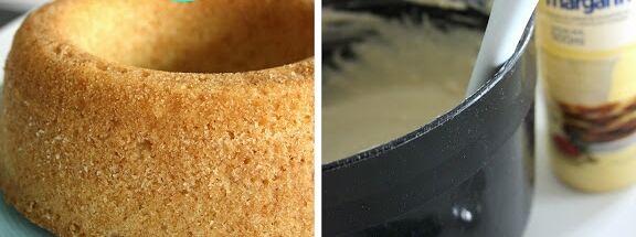 margarin flytande socker kaka