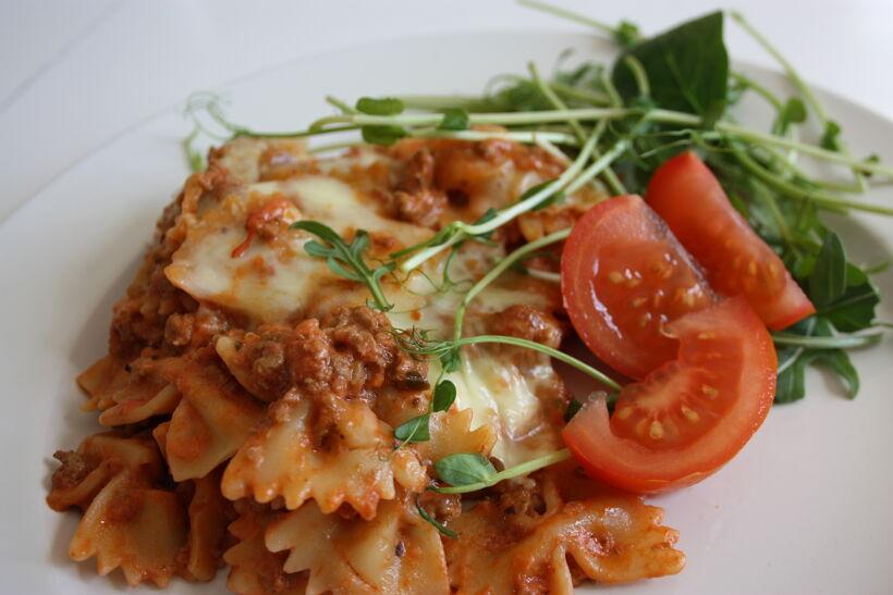 pasta köttfärs