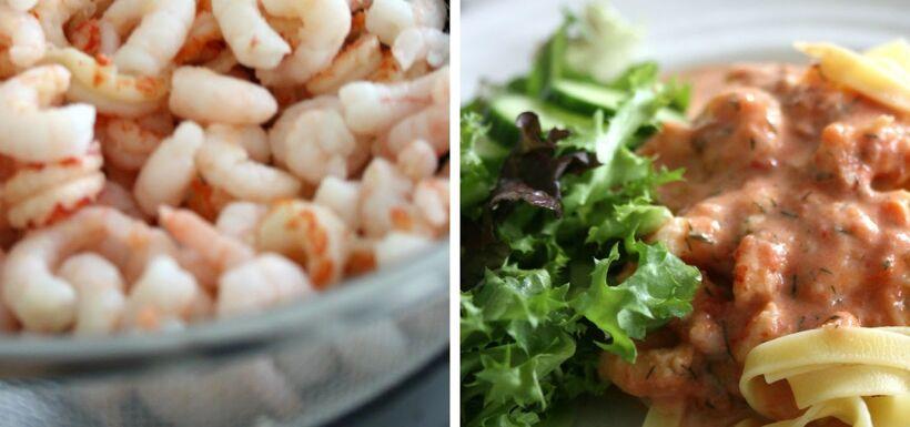 tomatsås skaldjur