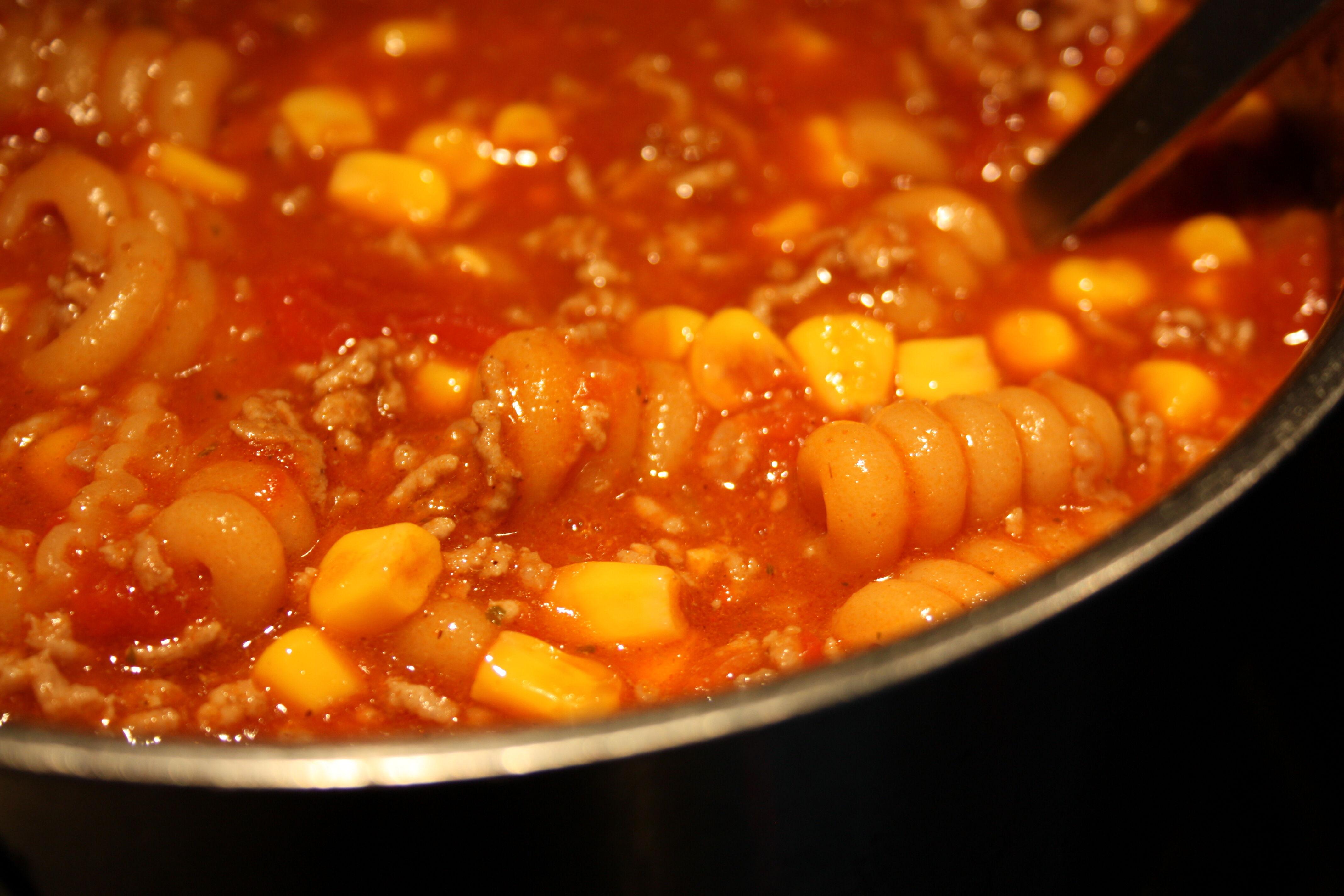 soppa tacokrydda