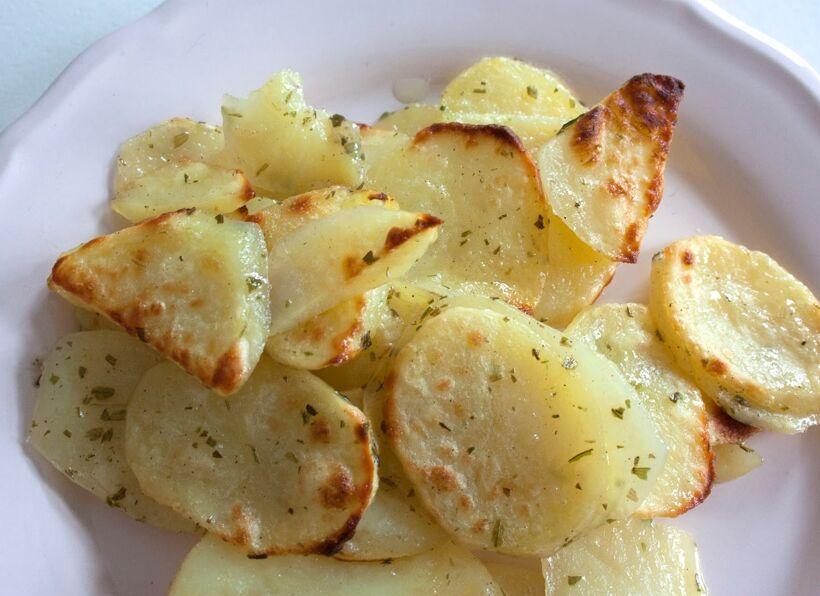 potatisen stekt rå