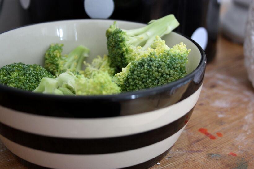 frysa broccoli