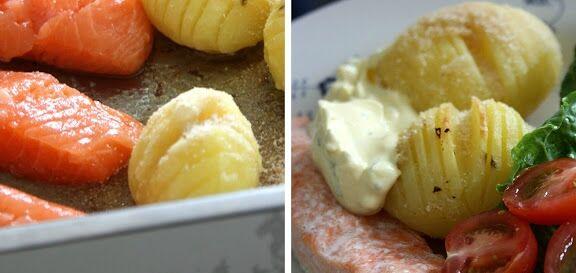 laxfile potatisen bearnaisesås
