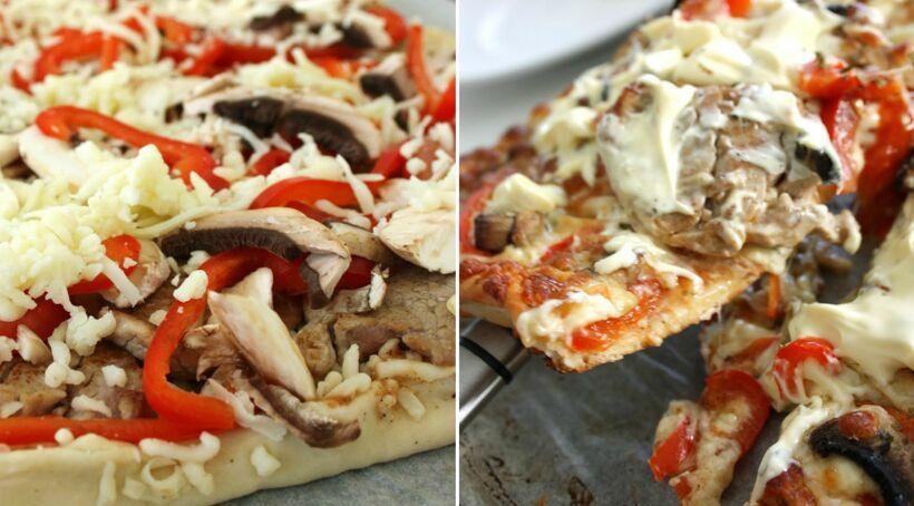 bearnaisesås pizza