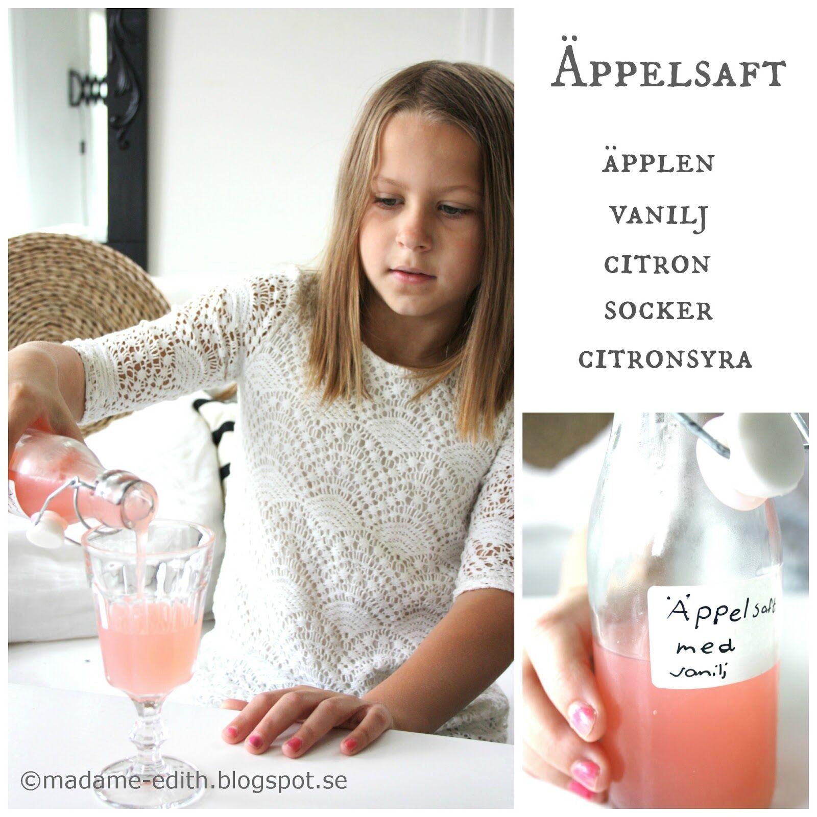 Recept äpplen