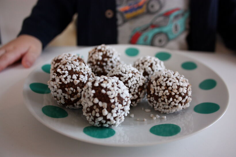 chokladbollar pepparkakskrydda